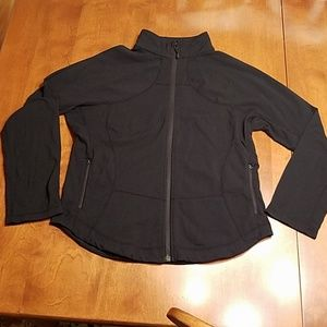 Lululemon athletica black jacket 14